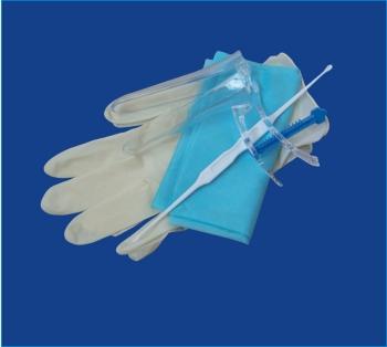 Набор смотровой  гинекологический  одноразовый стерильный (исполнение 4)