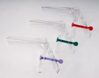 Зеркало гинекологическое по Куско одноразовое прозрачное, стерильное, M